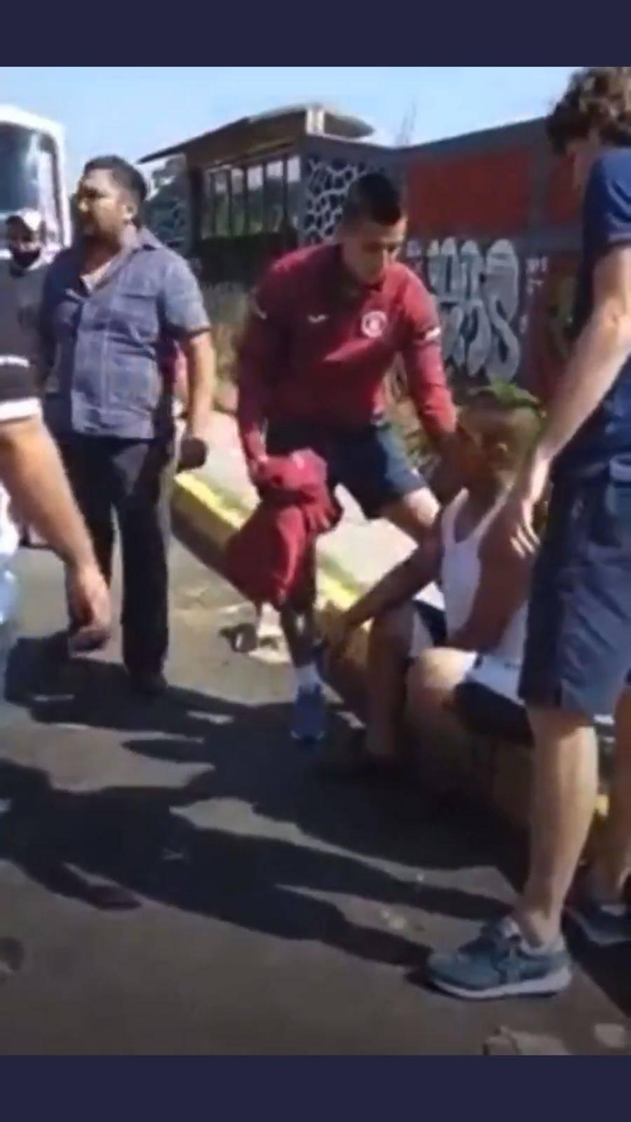 Video: Jugadores de Cruz Azul envueltos en accidente de tránsito