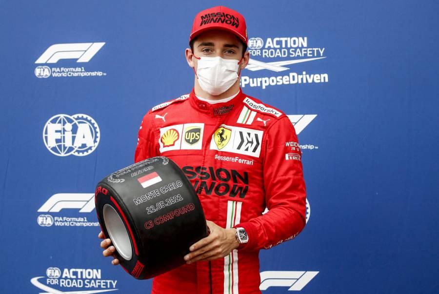 Charles Leclerc logra pole position en GP de Mónaco; Checo Pérez saldrá noveno
