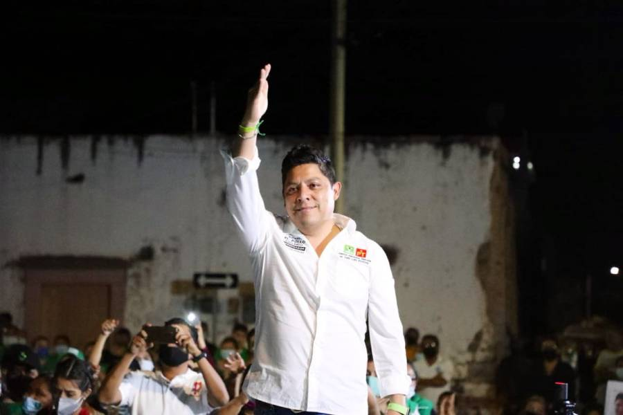 Ricardo Gallardo Cardona mostró unión y el apoyo en el Altiplano potosino