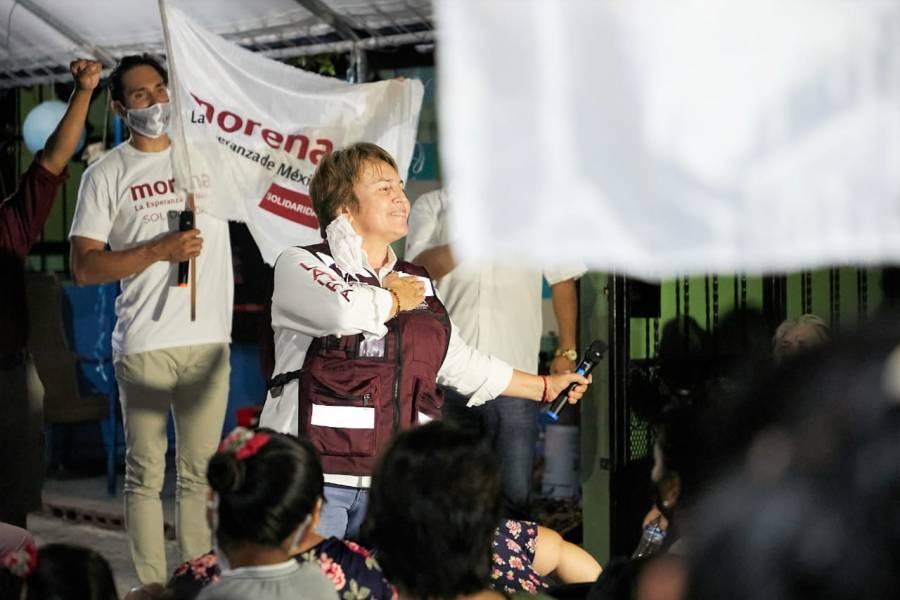 Morena Indestructible en Quintana Roo asegura Laura Beristain