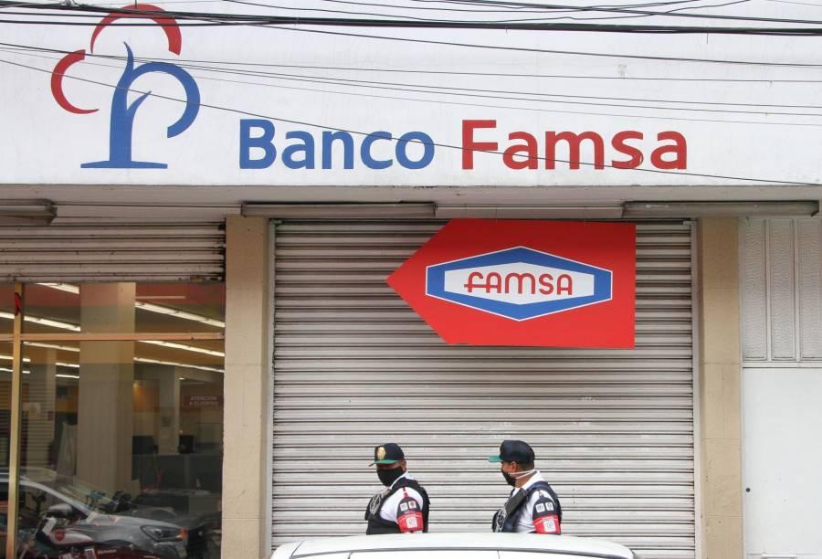 Piden al IPAB acelerar pago a usuarios del Banco Famsa