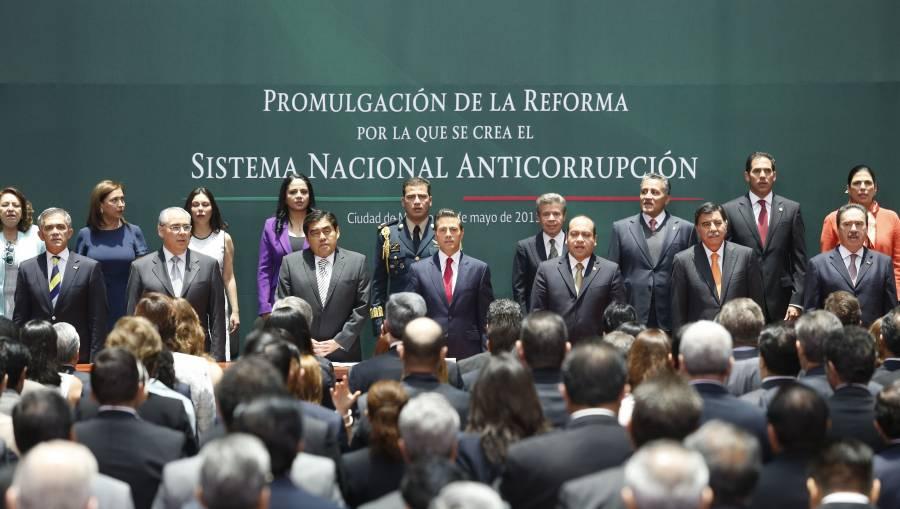SNA: Avanzan políticas estatales anticorrupción