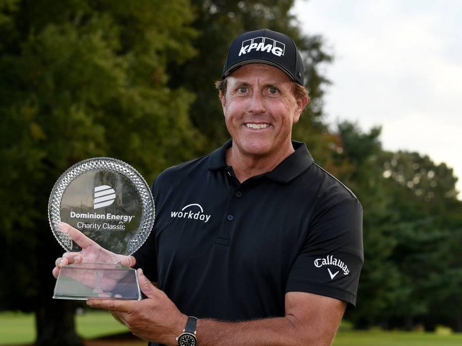 Phil Mickelson entra en la historia del golf con épico triunfo en Campeonato de la PGA