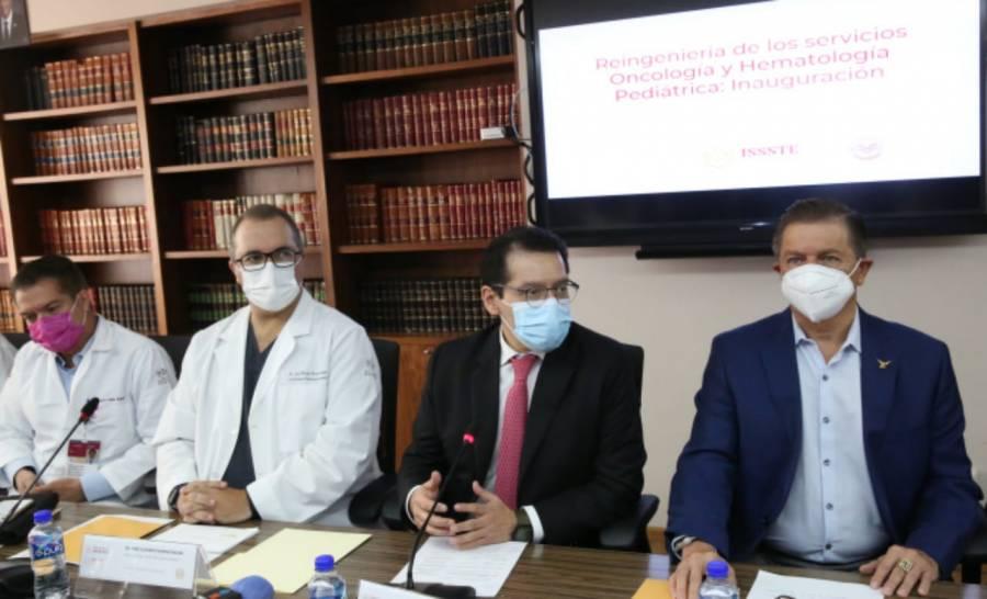 Ramírez Pineda: El ISSSTE, pionero en tratamiento de secuelas de cáncer infantil