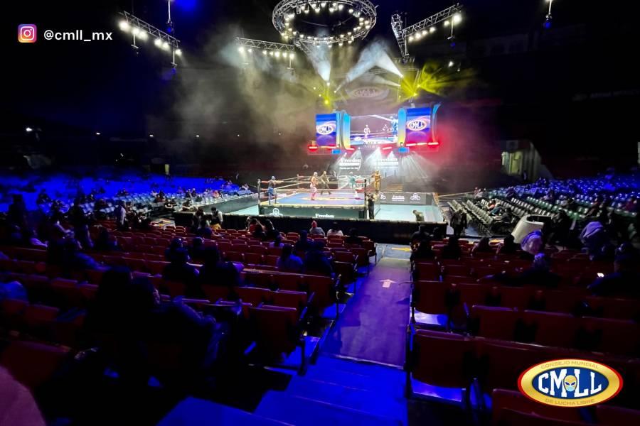 Reabre la Arena México para personas mayores de 10 años
