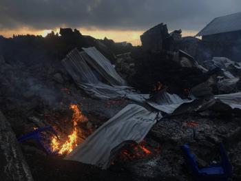 Reportan 13 muertos por erupción del volcán Nyiragongo en el Congo