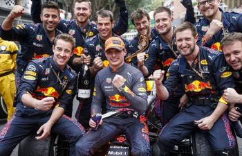 Max Verstappen gana en GP de Mónaco; Checo Pérez finaliza cuarto