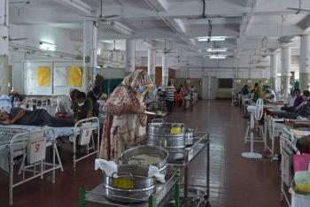 Ahora, India debe combatir hongo letal en pacientes con Covid-19