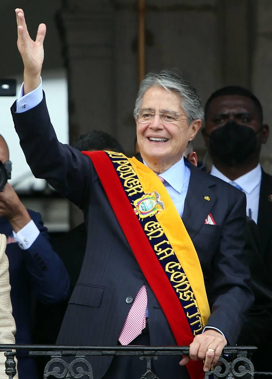 Asume Lasso presidencia de Ecuador