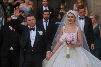 """Así fue la boda del """"Canelo"""" Álvarez en Guadalajara"""