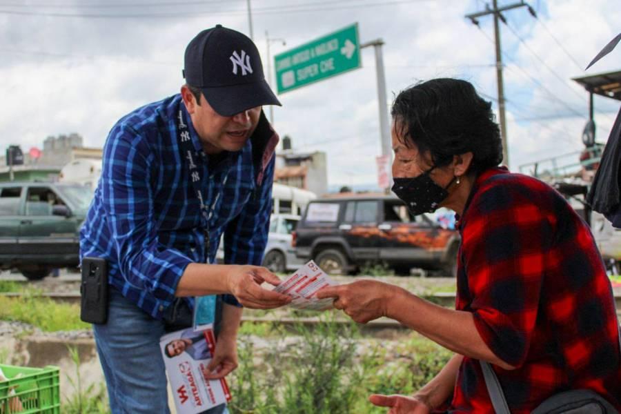 Desde el Congreso vamos a reactivar la economía de Xalapa: Víctor Arteaga