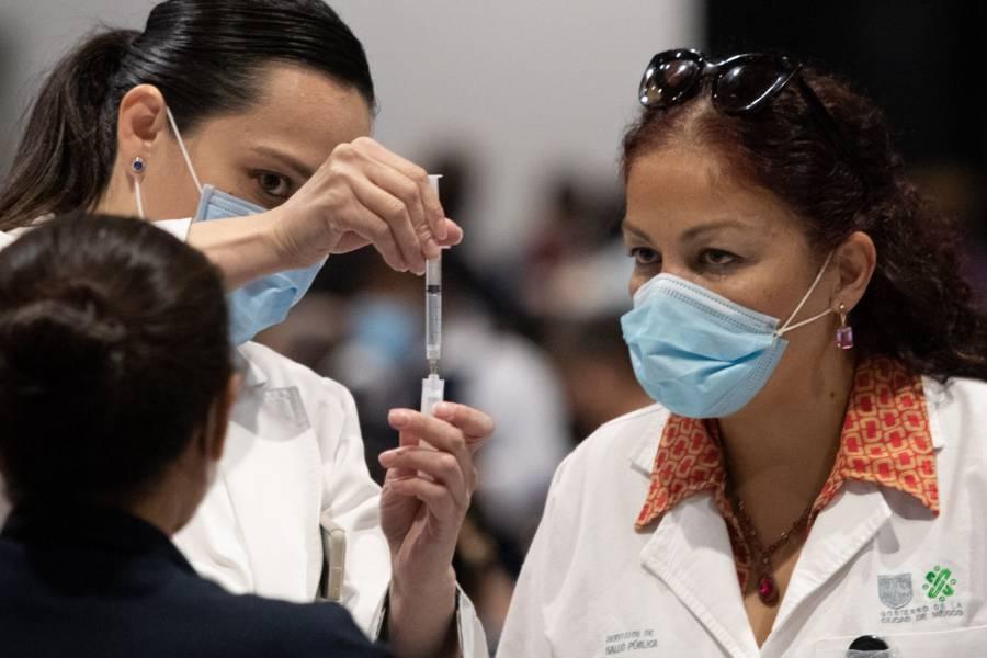 A nivel mundial, México es de los 10 países con más personas vacunadas contra Covid-19