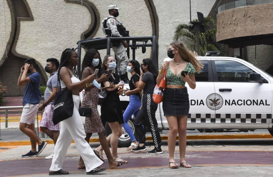 "Presenta Quintana Roo ""tercera ola"" de contagios de Covid-19"