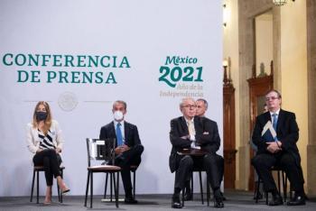 Reducción de contagios a la baja, y vacunación a la alza: Hugo López-Gatell