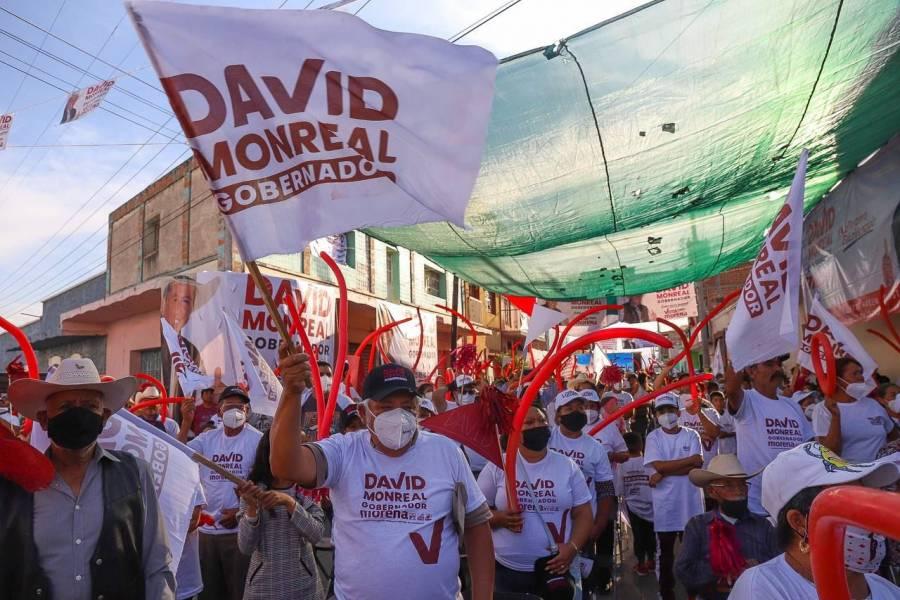 Enfrentaremos inseguridad con el apoyo de la GN: David Monreal