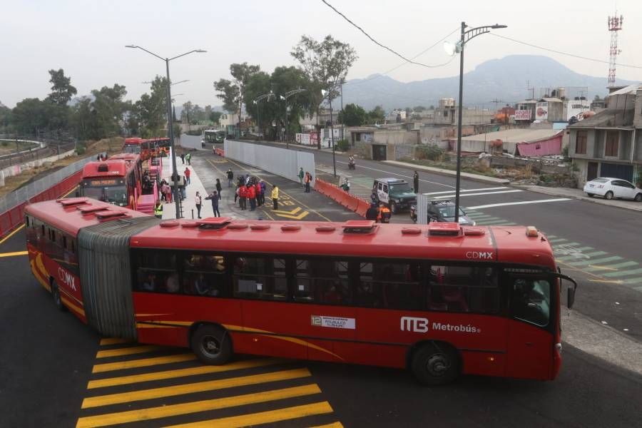 Pruebas de Metrobús disminuyen 30% en tiempos de recorrido de la Línea 12: SEMOVI