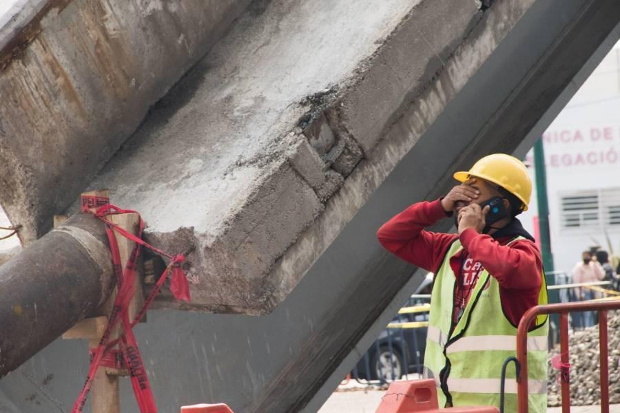 Concluye peritaje en zona de colapso de la Línea 12 del Metro
