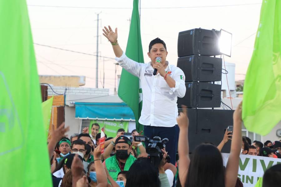 Se acabó el régimen jurásico del PRIAN, el cambio se aproxima: Ricardo Gallardo