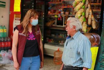 Urgente, crear empleos y rescatar empresas para reactivar economía de Azcapotzalco: Nancy Núñez