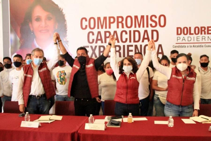 Edgar Cerda candidato de Fuerza por México declina a favor de Dolores Padierna