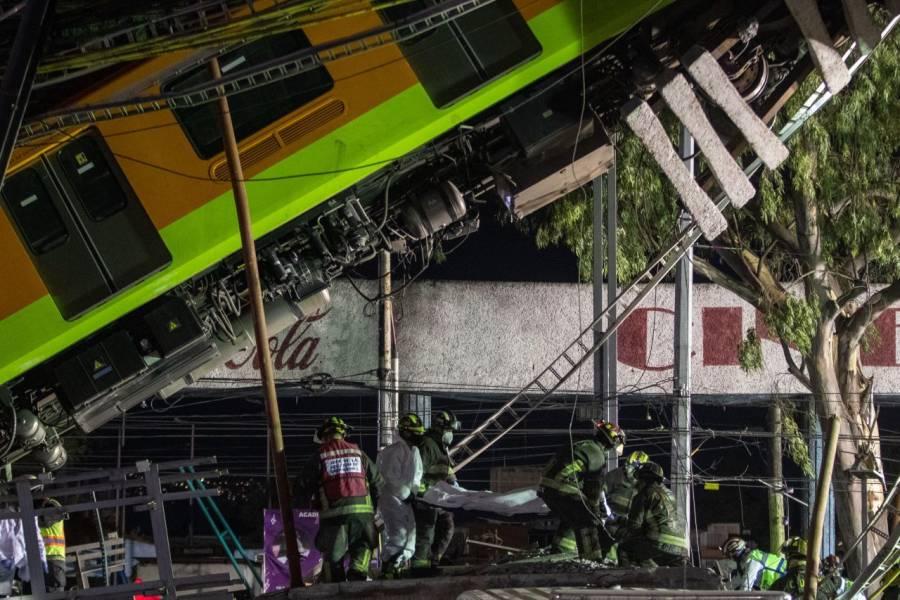 Tras accidente en Línea 12 del Metro permanecen 8 personas hospitalizadas
