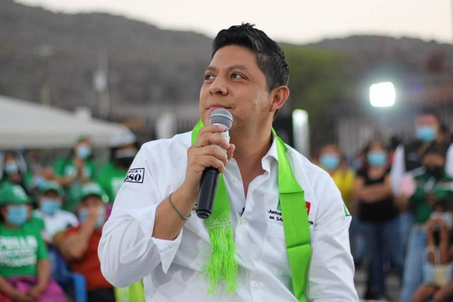 En un día de voluntad podemos cambiar la historia de San Luis Potosí: Ricardo Gallardo Cardona