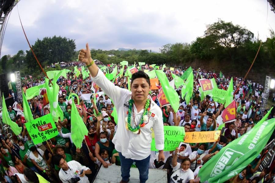 Ricardo Gallardo promete sacar al PRIAN de San Luis Potosí