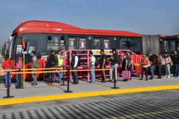 SEMOVI aumenta a 31 unidades en servicio expreso de Metrobús en Tláhuac