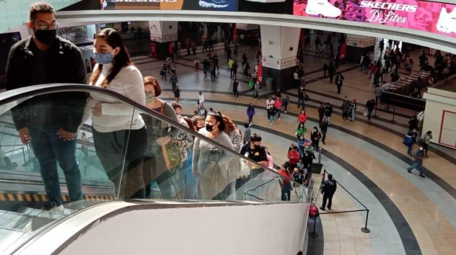 Aumentan aforo en centros comerciales y tiendas de CDMX