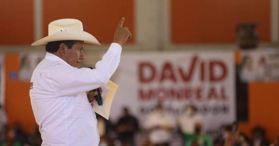 David Monreal: Estoy apostándole a la conciencia de los zacatecanos