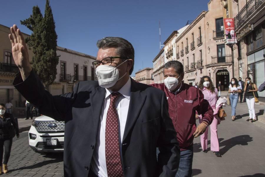 Ricardo Monreal pide a autoridades de Tamaulipas prudencia y no sobrecalentar el clima electoral