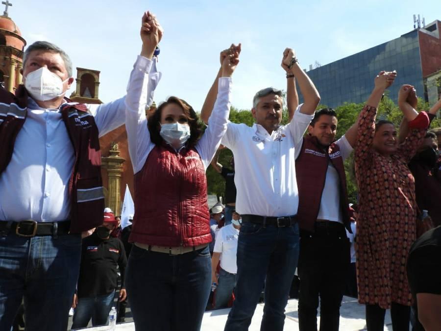 Morenistas inician cierre de campaña en alcaldía Cuauhtémoc