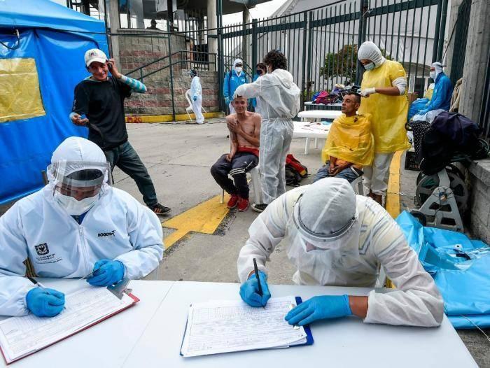 Colombia rompe récord de muertes por covid-19