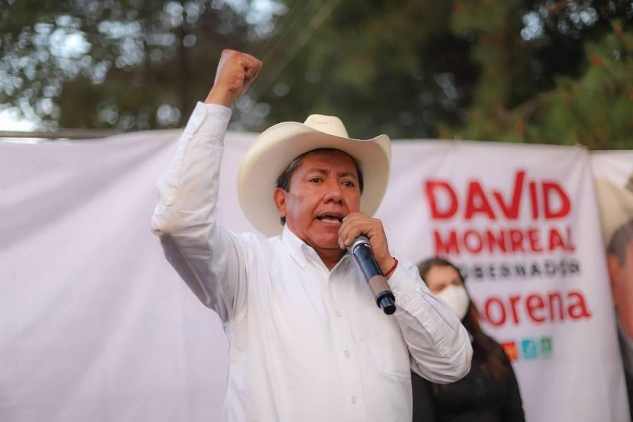 David Monreal apostará por reforzar el crecimiento económico de Zacatecas