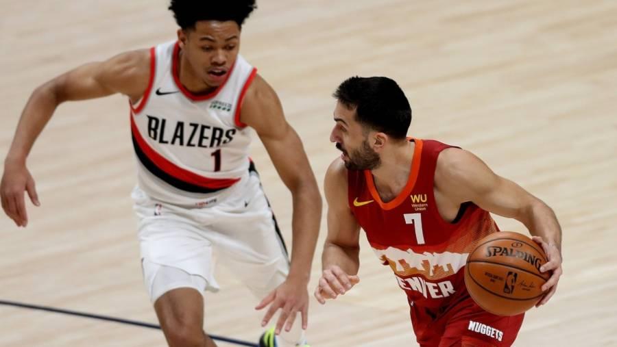 Blazers vencen a los Nuggets y empatan 2-2 la serie de playoffs