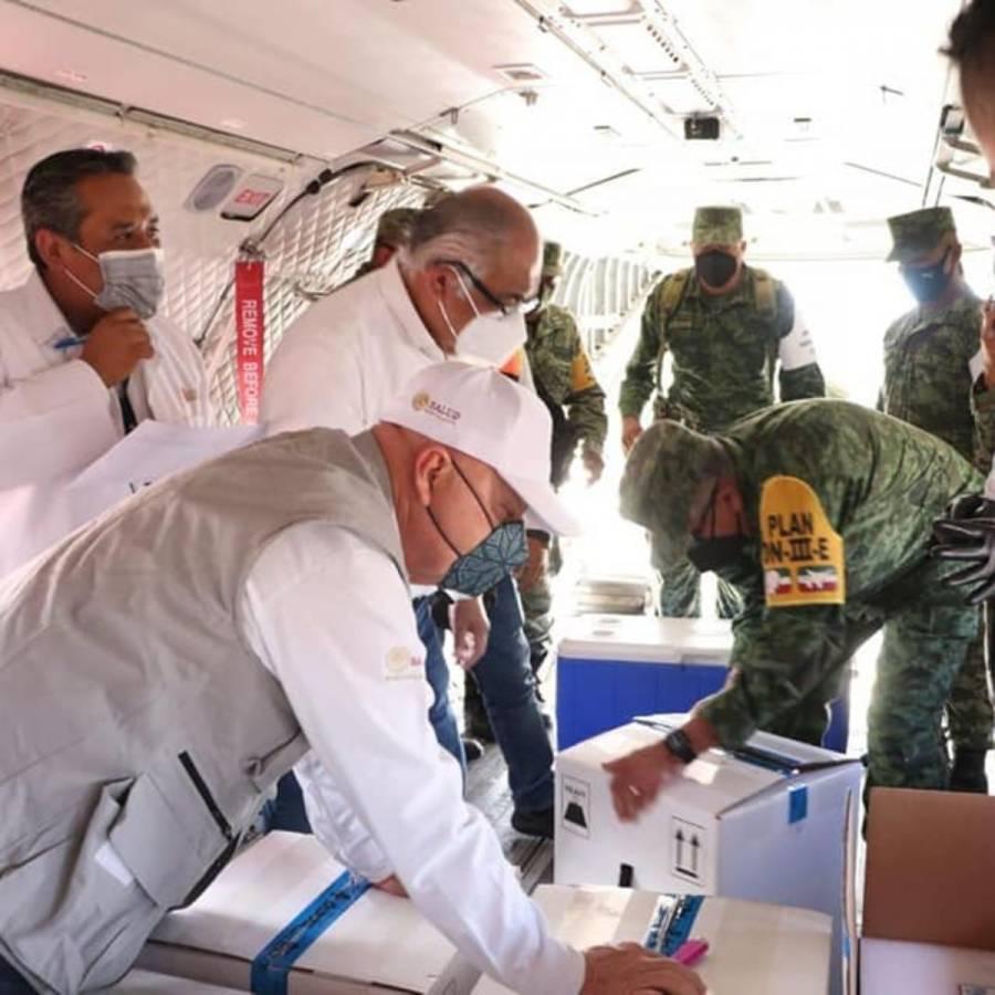 Chiapas, es de los primeros estados del país en iniciar vacunación en personas de 40 a 49 años de edad
