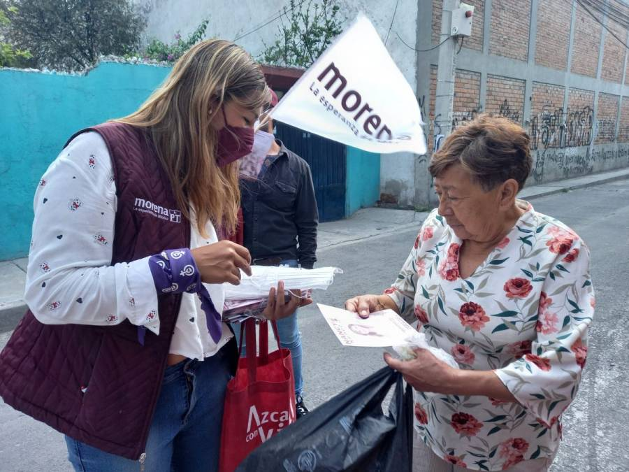 Cierra campaña Nancy Núñez con un llamado a la población para votar por los candidatos de Morena