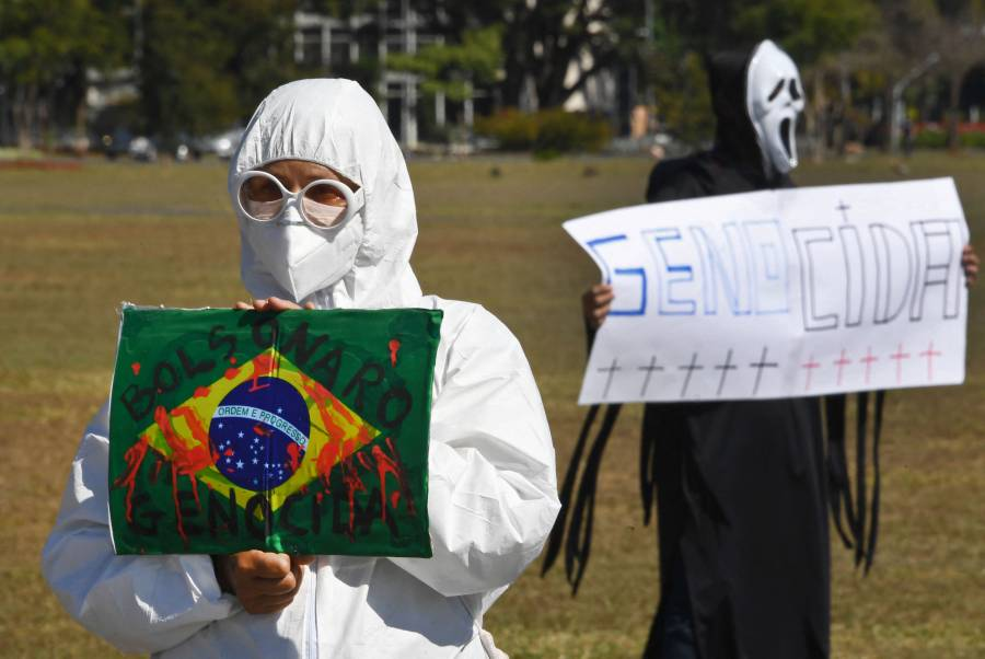 Brasil registra 30 mil 434 contagios de Covid-19 y 860 decesos