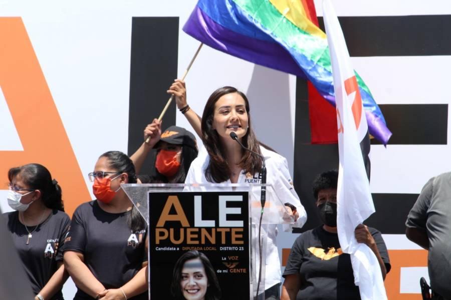Alejandra Puente se compromete legislar a favor de los niños con cáncer