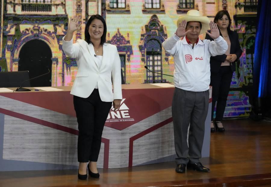 Candidatos a Presidencia de Perú en empate técnico