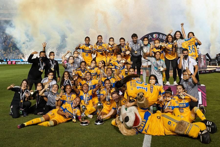 Tigres hace historia al coronarse bicampeónas de la liga femenil