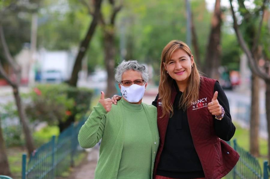 Nancy Núñez, orgullosa Chintolola, al Congreso de la CDMX