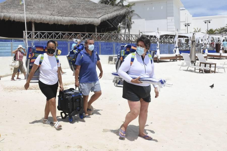 Anuncian nuevas medidas para reducir contagios de Covid-19 en Quintana Roo