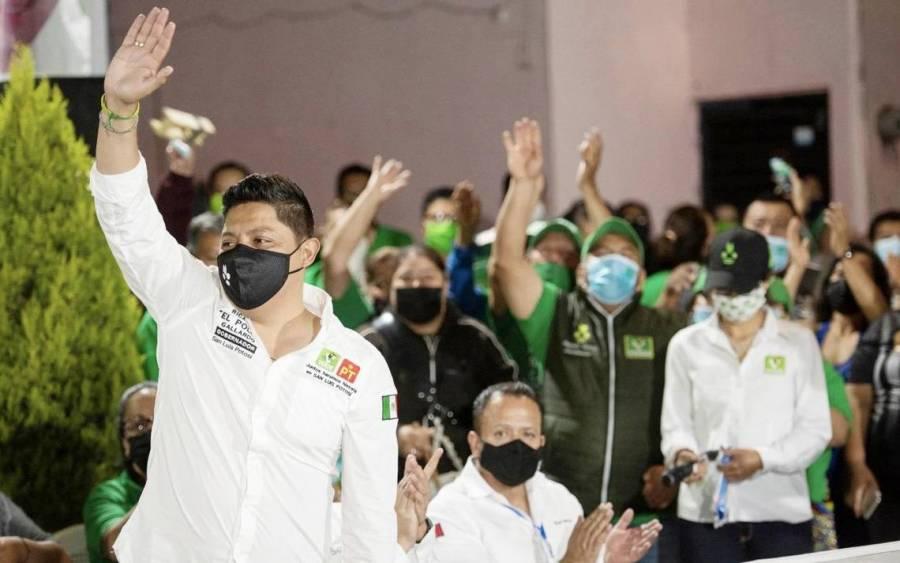 Con gran respaldo de los potosinos, Ricardo Gallardo cerró campaña en la capital