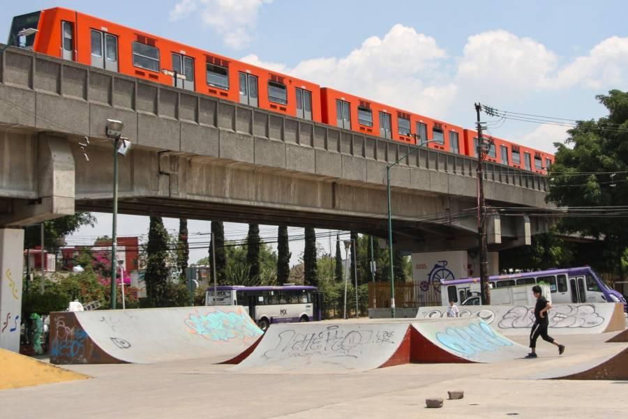 Continúan inspecciones en tramos elevados de Líneas 4, B y 9 del Metro