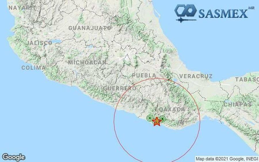 Sismo de magnitud 4.2 remece Oaxaca; no ameritó alerta en CDMX