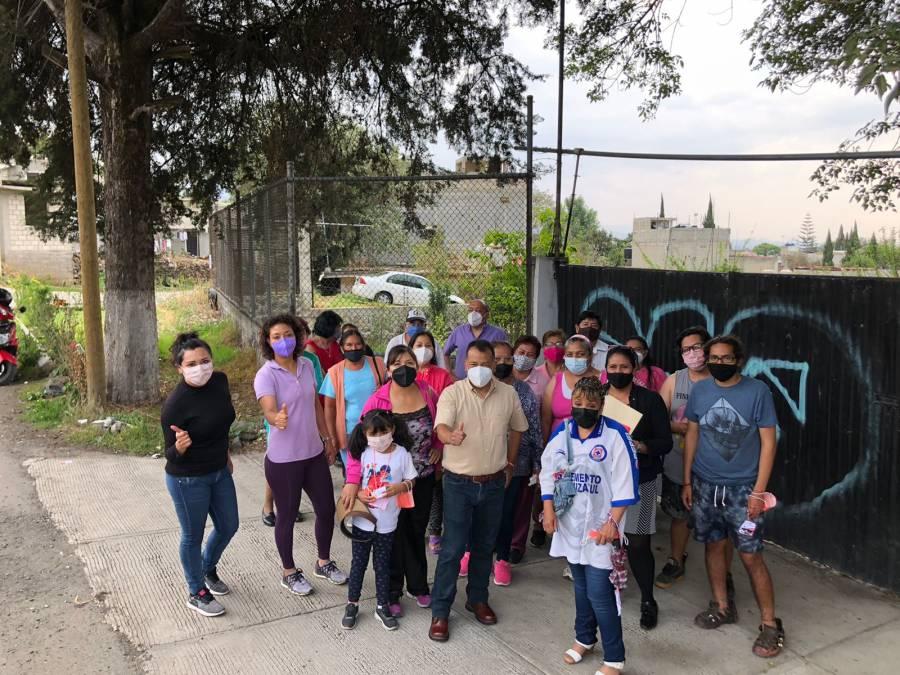 Jorge Pérez Rodríguez, promete resolver problemas de agua en Tlalpan