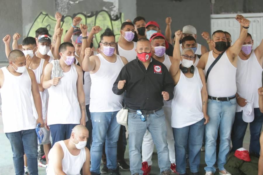"""Grupo de autodefensa electoral """"Mastines"""" es presentado por partido RSP"""
