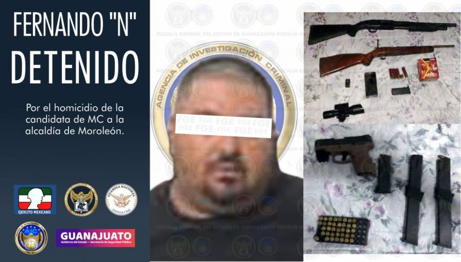Capturan a responsable del homicidio de Alma Barragán