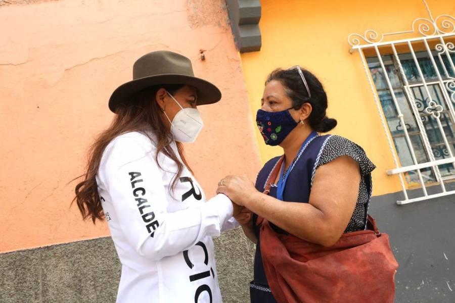 Quitaremos del poder a quienes por 15 años han gobernado Venustiano Carranza: Rocío Barrera